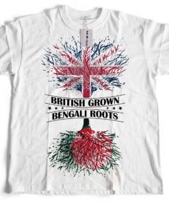 Bengali T-Shirt Company - BTCPAT0001 British Grown Bangladeshi Roots