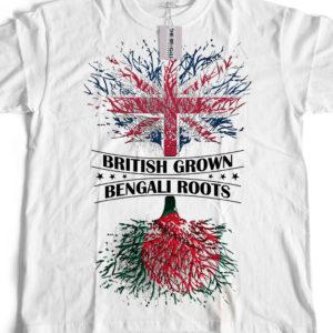 Bengali T-Shirt Company - BTCPAT0001 British Grown Bangladeshi Roots