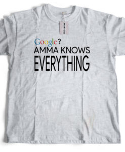 The Bengali T-Shirt Company - AMMA Knows Everything