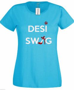 Bengali T-Shirt Company - BTCWFS0002 Desi Swag Womens