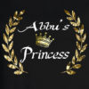 Bengali T-Shirt Company - BTCWFS0001 Abbu's Princess DESIGN Womens