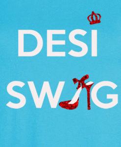 Bengali T-Shirt Company - BTCWFS0002 Desi Swag DESIGN Womens