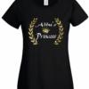 Bengali T-Shirt Company – BTCWFS0001 Abbu's Princess Womens