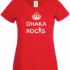 Bengali T-Shirt Company – BTCWFS0004 Dhaka Rocks Womens