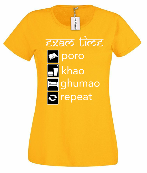 The Bengali T-Shirt Company - Exam time