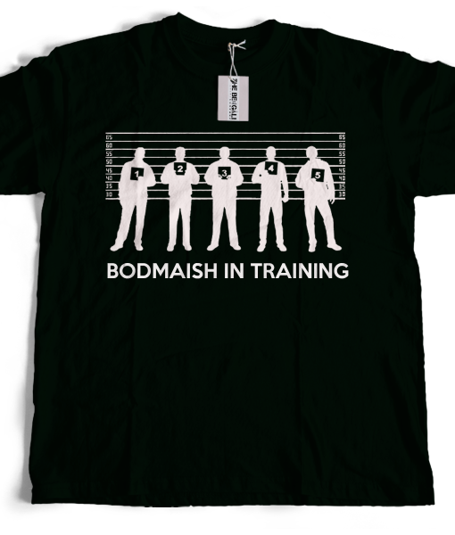 Bengali T-Shirt Company - BTCFUN0014 Bodmaish In Training Black