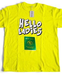 The Bengali T-Shirt Company - Hello Ladies Bangladesh Passport
